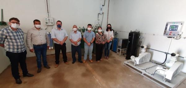 Grupo Irmãos Gonçalves doa usina de Ar medicinal para atender pacientes do Hospital Municipal