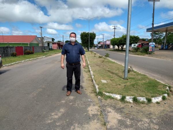 Vereador Dr. Luís do Hospital, visita o distrito de Tarilândia